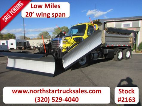 2013 Freightliner 114SD Dump-Plow Truck with 2 Wings and Sander  in St Cloud, MN