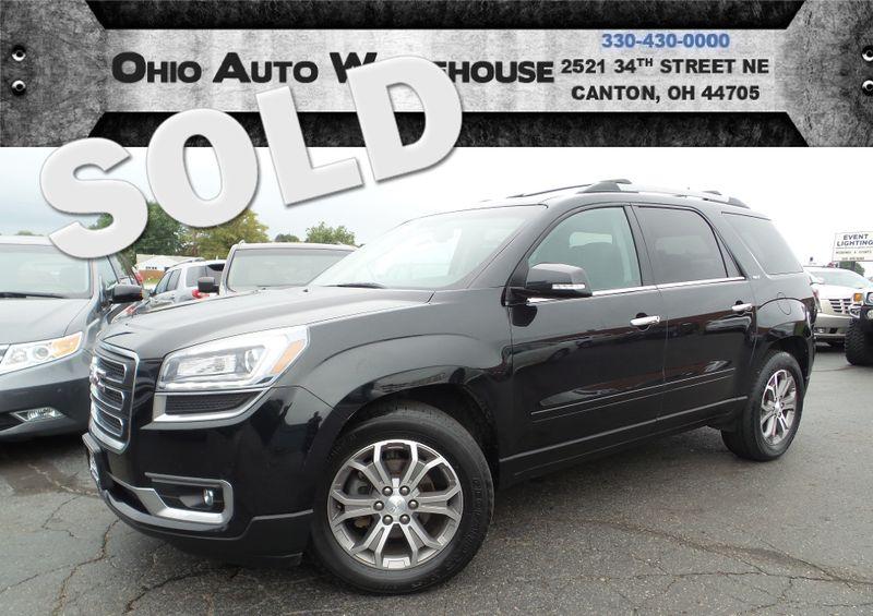2013 GMC Acadia SLT AWD Tv/DVD 3rd Row 1-Own Cln Carfax We Finance | Canton, Ohio | Ohio Auto Warehouse LLC in Canton Ohio
