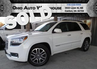 2013 GMC Acadia Denali AWD Sunroof 3rd Row Clean Carfax We Finance | Canton, Ohio | Ohio Auto Warehouse LLC in Canton Ohio