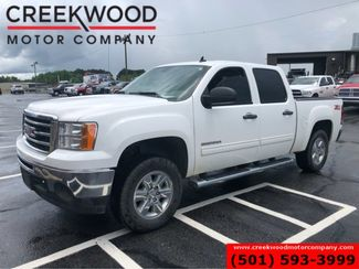 2013 GMC Sierra 1500 SLE 4x4 Z71 White Leather Chrome 18s LowMiles NICE in Searcy, AR 72143