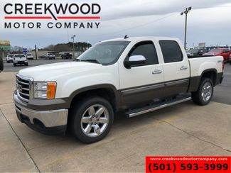 2013 GMC Sierra 1500 SLE 4x4 White 2-Tone Paint Leather Chrome 20s NICE in Searcy, AR 72143