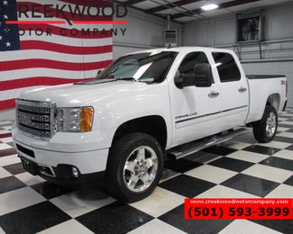 2013 GMC Sierra 2500HD Denali 4x4 Diesel White Chrome 20s Nav Roof CLEAN in Searcy, AR 72143