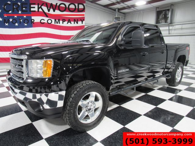 2013 GMC Sierra 2500HD SLT 4x4 Diesel Allison Leveled 20s 1 Owner NavRoof