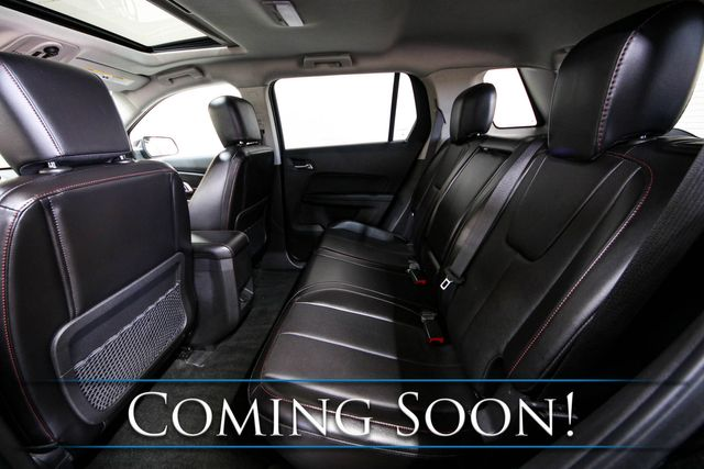 2013 GMC Terrain SLT Crossover w/Backup Cam, Moonroof, Heated Seats, Touchscreen INFOtainment & Hitch in Eau Claire, Wisconsin 54703