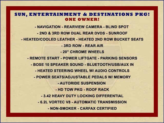 2013 GMC Yukon XL Denali AWD - NAVIGATION - DUAL DVDS - SUNROOF! Mooresville , NC 1