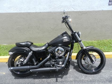 2013 Harley-Davidson DYNA STREET BOB FXDB EXTRAS + **30 DAY COMPLIMENTARY WARRANTY! in Hollywood, Florida