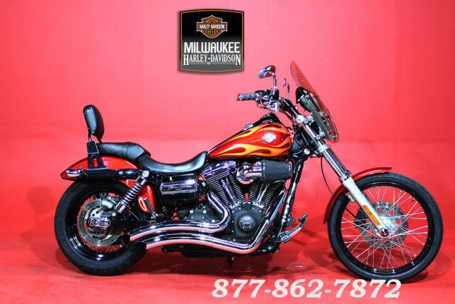 2013 Harley-Davidson DYNA WIDE GLIDE FXDWG WIDE GLIDE FXDWG in Chicago, Illinois 60555