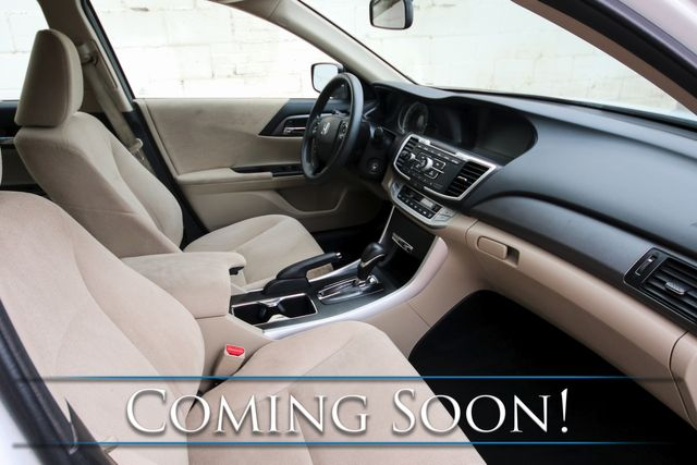 2013 Honda Accord LX w/Backup Cam, Dual AC Controls, Bluetooth/iPod/Aux Audio & Gets 36MPG in Eau Claire, Wisconsin 54703