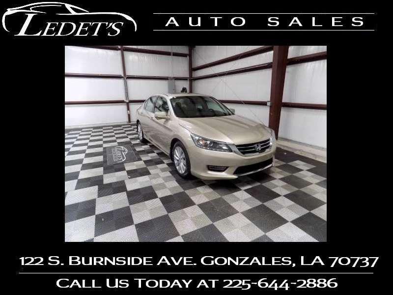 2013 Honda Accord EX-L - Ledet's Auto Sales Gonzales_state_zip in Gonzales Louisiana