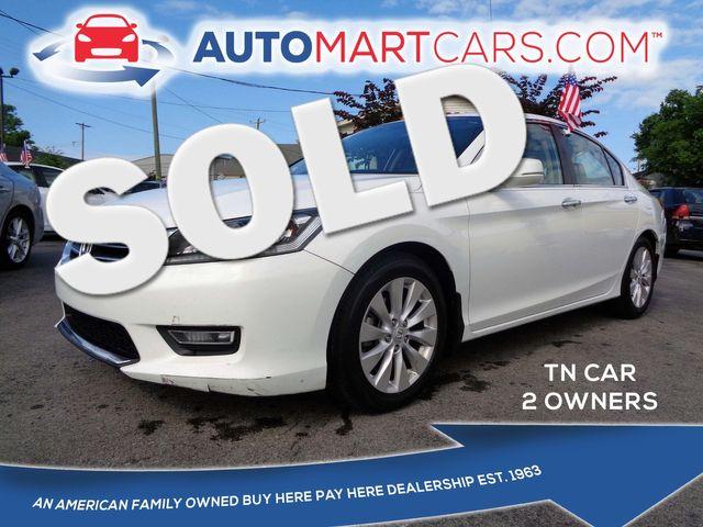 2013 Honda Accord EX-L   Nashville, Tennessee   Auto Mart Used Cars Inc. in Nashville Tennessee