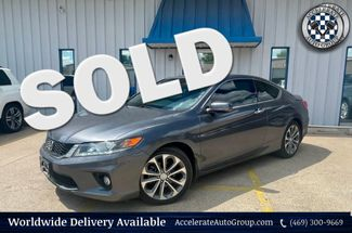 2013 Honda Accord 3.5L V6 EX-L  Leather Back-up Cam Htd Seats Nice!! in Rowlett