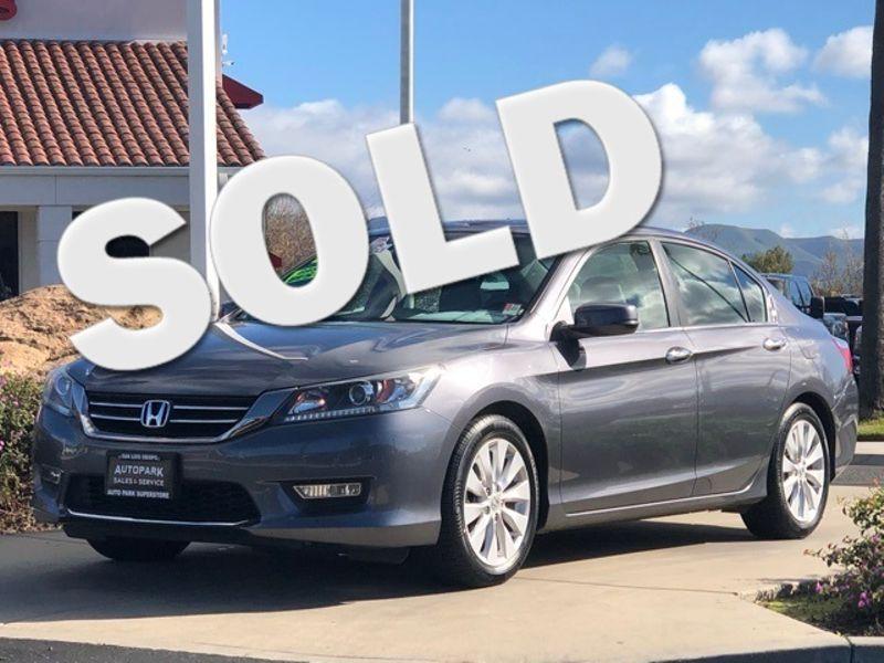 2013 Honda Accord EX-L | San Luis Obispo, CA | Auto Park Sales & Service in San Luis Obispo CA