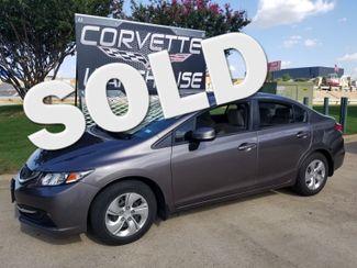2013 Honda Civic LX Sedan Auto, CD Player, Pwr Pkg, 1-Owner! | Dallas, Texas | Corvette Warehouse  in Dallas Texas