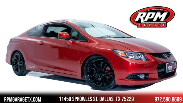 2013 Honda Civic Si Lowered with Upgrades
