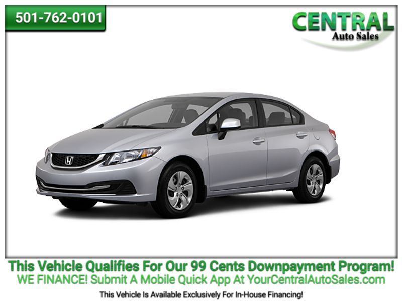 2013 Honda Civic LX | Hot Springs, AR | Central Auto Sales in Hot Springs AR