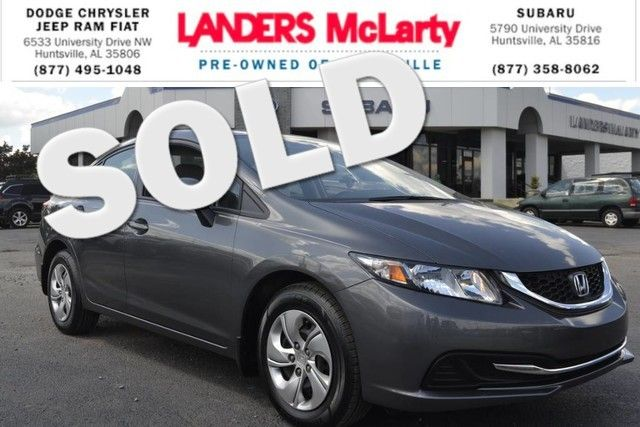 2013 Honda Civic LX | Huntsville, Alabama | Landers Mclarty DCJ & Subaru in  Alabama
