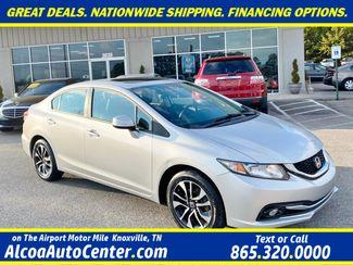 "2013 Honda Civic EX-L w/Navigation Leather/Sunroof/16"" Alloys in Louisville, TN 37777"
