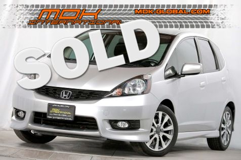 2013 Honda Fit Sport - Automatic - Rear spoiler in Los Angeles