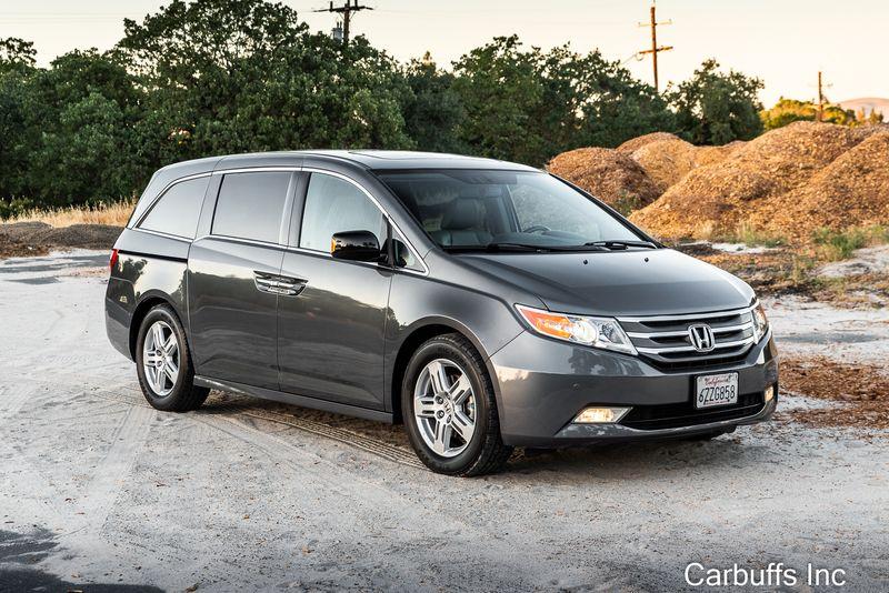 2013 Honda Odyssey Touring Elite   Concord, CA   Carbuffs in Concord, CA