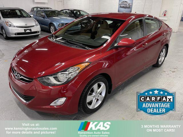 2013 Hyundai Elantra GLS PZEV Preferred
