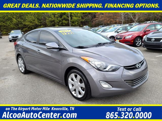 "2013 Hyundai Elantra Limited Leather/ Sunroof/17"" Alloys"