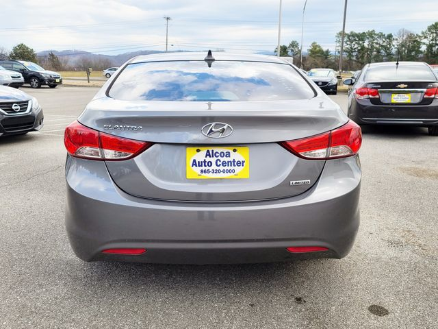 "2013 Hyundai Elantra Limited Leather/ Sunroof/17"" Alloys in Louisville, TN 37777"