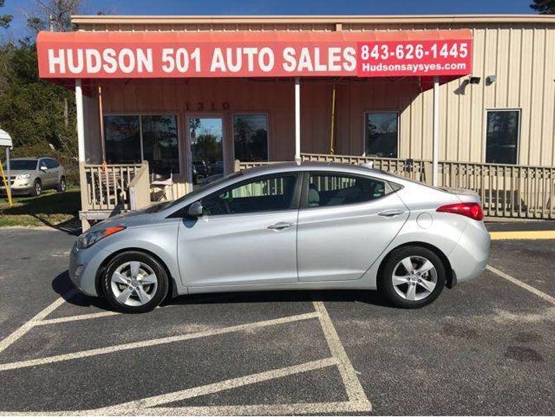 2013 Hyundai Elantra GLS | Myrtle Beach, South Carolina | Hudson Auto Sales in Myrtle Beach South Carolina
