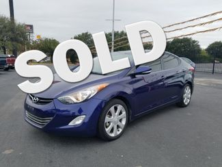 2013 Hyundai Elantra Limited in San Antonio TX, 78233