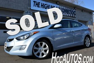 2013 Hyundai Elantra Limited PZEV Waterbury, Connecticut