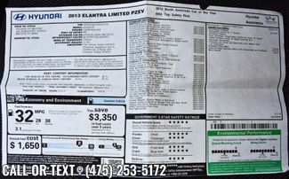 2013 Hyundai Elantra Limited PZEV Waterbury, Connecticut 33