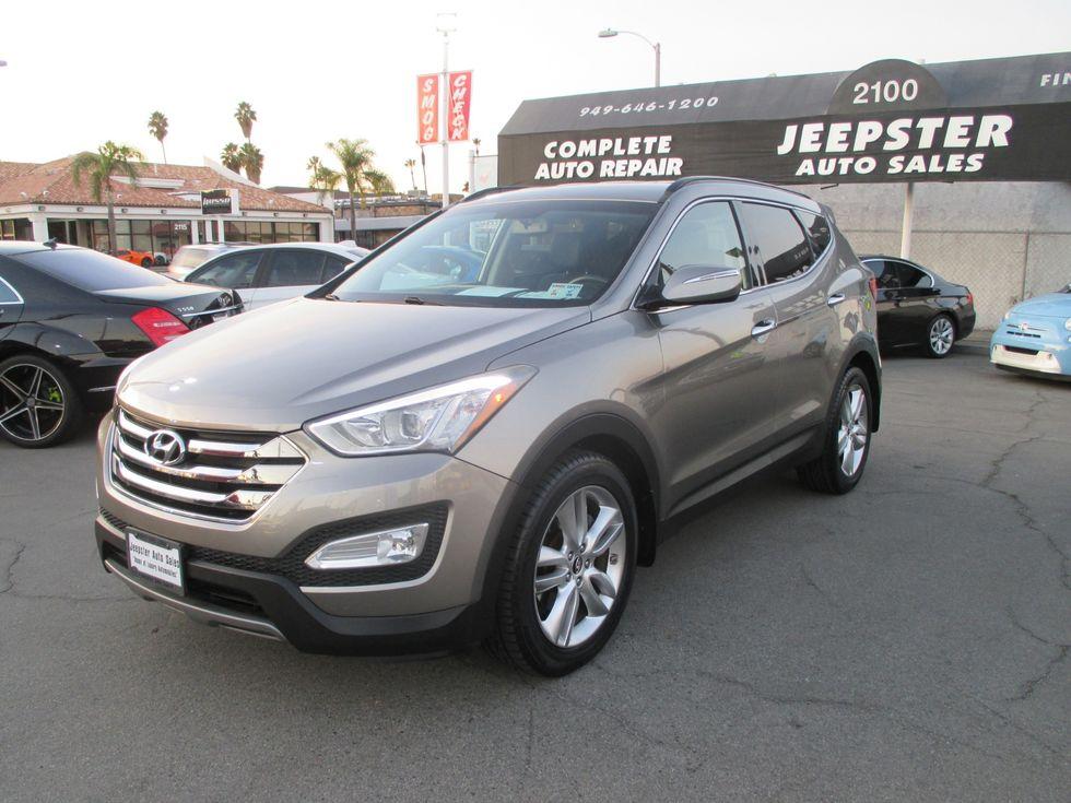 2017 Hyundai Santa Fe 2 0t Sport In Costa Mesa California 92627