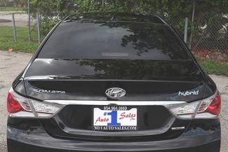 2013 Hyundai Sonata Hybrid Limited Hollywood, Florida 45
