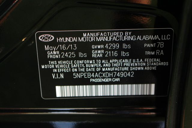 2013 Hyundai Sonata GLS Mooresville , NC 40