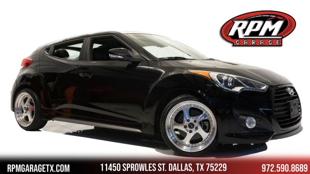 2013 Hyundai Veloster Turbo with Upgrades