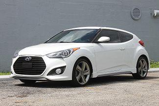 2013 Hyundai Veloster Turbo w/Black Int Hollywood, Florida 10