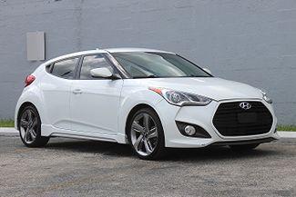 2013 Hyundai Veloster Turbo w/Black Int Hollywood, Florida 1