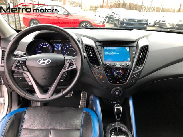 2013 Hyundai Veloster Turbo w/Blue Int Knoxville , Tennessee 33
