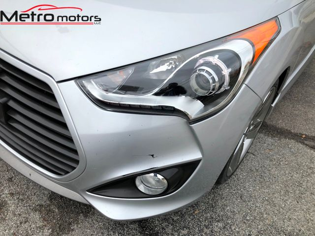 2013 Hyundai Veloster Turbo w/Blue Int Knoxville , Tennessee 6