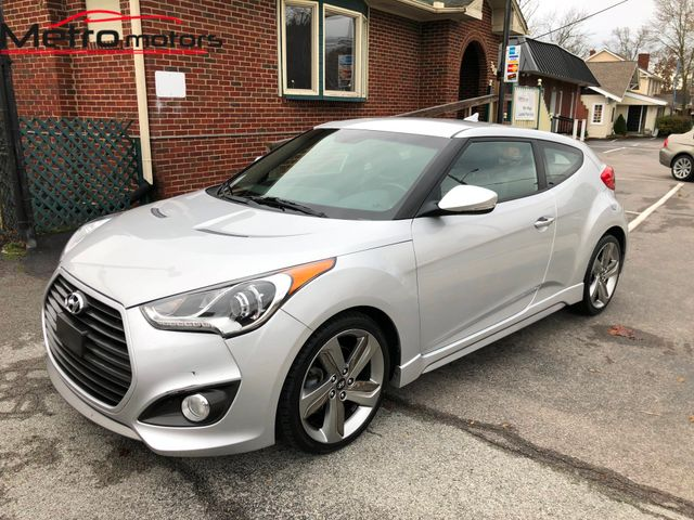 2013 Hyundai Veloster Turbo w/Blue Int Knoxville , Tennessee 7