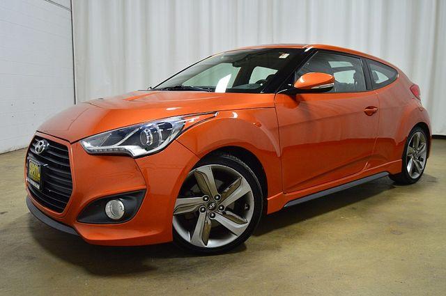 2013 Hyundai Veloster Turbo w/Black Int