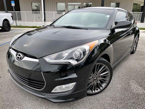 2013 Hyundai Veloster RE:MIX CARFAX CERT BLACK/BLACK  in Plant City, Florida