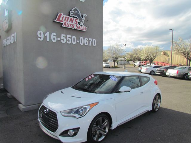 2013 Hyundai Veloster Turbo w/Blue Int Low Miles in Sacramento, CA 95825