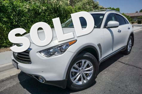 2013 Infiniti FX37  in cathedral city