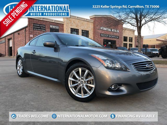 2013 Infiniti G37 Coupe Journey ONE OWNER