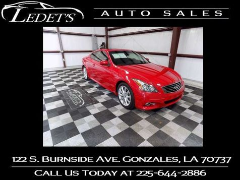 2013 Infiniti G37 Coupe Journey - Ledet's Auto Sales Gonzales_state_zip in Gonzales, Louisiana