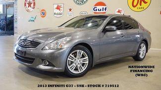 2013 Infiniti G37 Sedan Journey ROOF,NAV,BACK-UP,HTD LTH,17IN WHLS,59K! in Carrollton TX, 75006