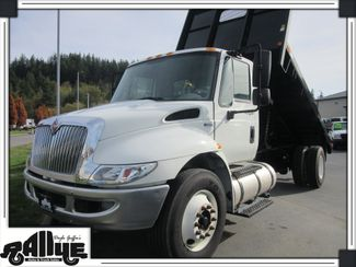 2013 International 4300 Durastar Model Flatbed Dump 7.6L Diesel in Burlington WA, 98233