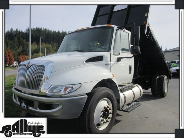 2013 International 4300 Durastar Model Flatbed Dump 7.6L Diesel