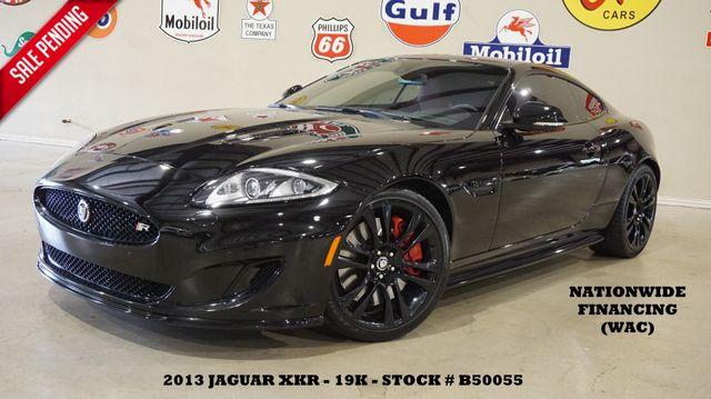 2013 Jaguar XK R Coupe NAV,BACK-UP,B & W SYS,HTD LTH,BLK 20'S19K