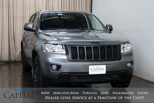 2013 Jeep Grand Cherokee Laredo 4x4 Sport Utility with Blacked Out Wheels and UConnect Audio w/Aux Input in Eau Claire, Wisconsin 54703